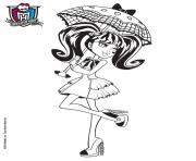 cute monsterhigh draculaura coloring pages