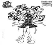 rochelle goyle monster high coloring pages