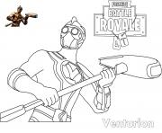Printable Fortnite Venturion Skin coloring pages