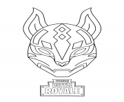 Printable drift ultimate mask fortnite coloring pages