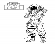 Printable fortnite nevermore soldier coloring pages