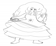 rose steven universe coloring pages