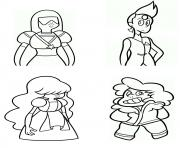 Free Steven Universe Coloring Pages Printable | Coloring books ... | 148x180