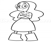 Connie From Draw Steven Universe coloring pages
