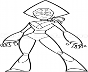 Peridot Steven Universe Characters coloring pages