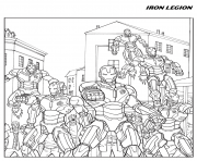 iron man legion avengers coloring pages