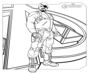 marvel avengers nick fury coloring pages