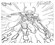 marvel avengers loki coloring pages