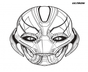 ultron avengers marvel coloring pages