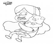 Gravity falls Mabel and Waddles