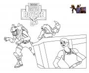 Printable rex loading screen fortnite coloring pages