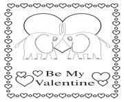 be my valentine elephants