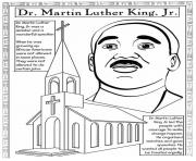 Printable martin luther king day wonderful speaker coloring pages