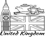 united kingdom flag big ben
