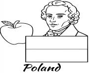 poland flag chopin