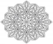 Printable mandala zen antistress new coloring pages