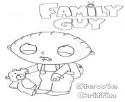 Printable Family Guy Stewie coloring pages