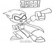 Cartoon Robin Teen Titans Go