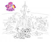 connect the dots crystal empire my little pony coloring pages