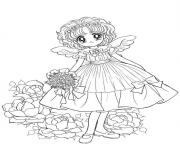 glitter force cute princess wedding paradise coloring pages
