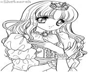 glitter force princess coloring pages