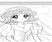 Printable glitter force Happy Paradise for girls coloring pages