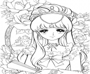 Printable glitter force for kids coloring pages