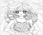Printable glitter force Happy Paradise 1 coloring pages