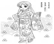 glitter force asian dress coloring pages