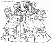 Printable glitter force vintage coloring pages