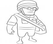 Printable Boom Beach Medic coloring pages
