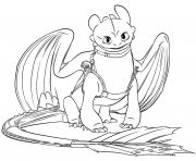 toothless dragon 3 coloring pages