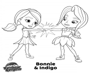 Printable BFF from Rainbow Rangers coloring pages