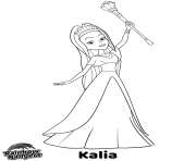 Printable Kaleidoscopia Leader Rainbow Rangers coloring pages