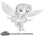 Printable Little Fairy Rainbow Rangers coloring pages