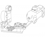 lego junior cars 3 cruz ramirez coloring pages