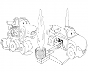 Printable lego cars 3 jackson storm racing coloring pages