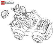 lego construction mini truck coloring pages