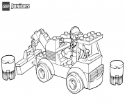 lego racetrack tow truck coloring pages