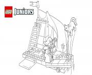 lego juniors the princess play castle coloring pages