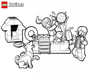 lego fun coloring pages