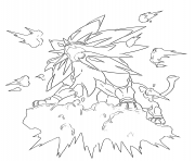 076 Golem Pokemon Coloring Pages