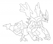Printable Pokemon legendary hd coloring pages