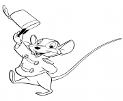 Printable timothy q mouse coloring pages