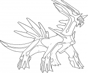 Dialga generation 4 coloring pages