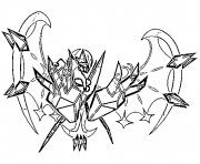 Necrozma aa pokemon legendary Generation 7 coloring pages