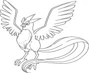 Xerneas Pokemon Legendary Generation 6 Coloring Pages Printable