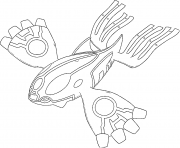 Primo Kyogre Primo Resurgences Generation 6 coloring pages
