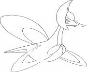Cresselia generation 4 coloring pages
