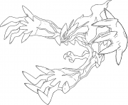 Yveltal XY pokemon legendary Generation 6